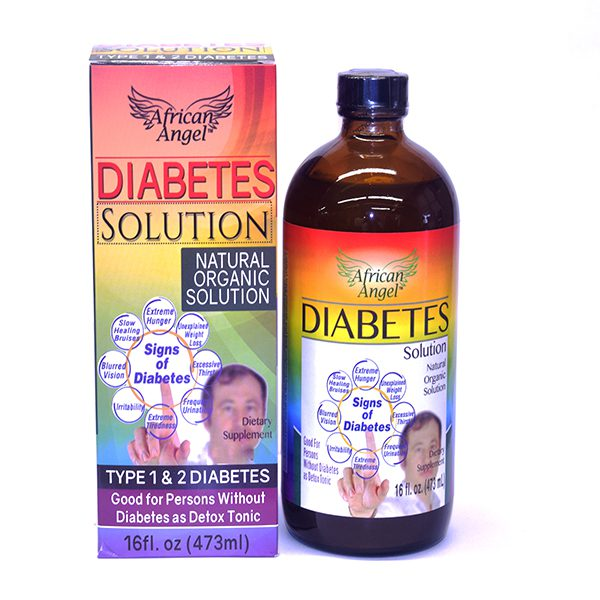 African Angel Diabetes Solution, Organic Diabetes solution